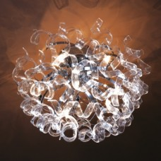 14042 HARMONI 8XG4/20W CHROME Таванска светилка