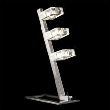 1557 INUA 3xG9/60W,NICKEL SATIN Столна светилка
