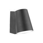 31400 МОНТЕРЕЈ ЛЕД/6Њ,ИП44,4000К Црна надворешна зидна светилка