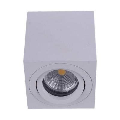 48608 АЛУКС 1хГУ10/Макс 50W бели таванска светилка