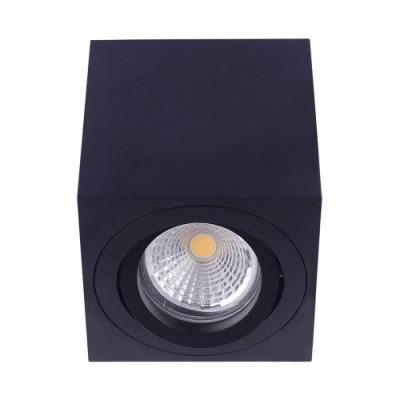 48609 АЛУКС 1хГУ10/МАХ 50W црно таванска светилка