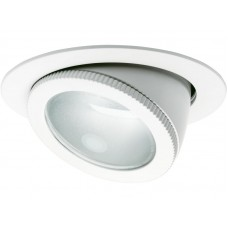 ВГРАДНА СВЕТИЛКА DOWNLIGHT FLEX 253 1X35/70/150 MT G12 9003 БЕЛА